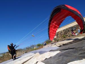 Artur Łosik - paragliding